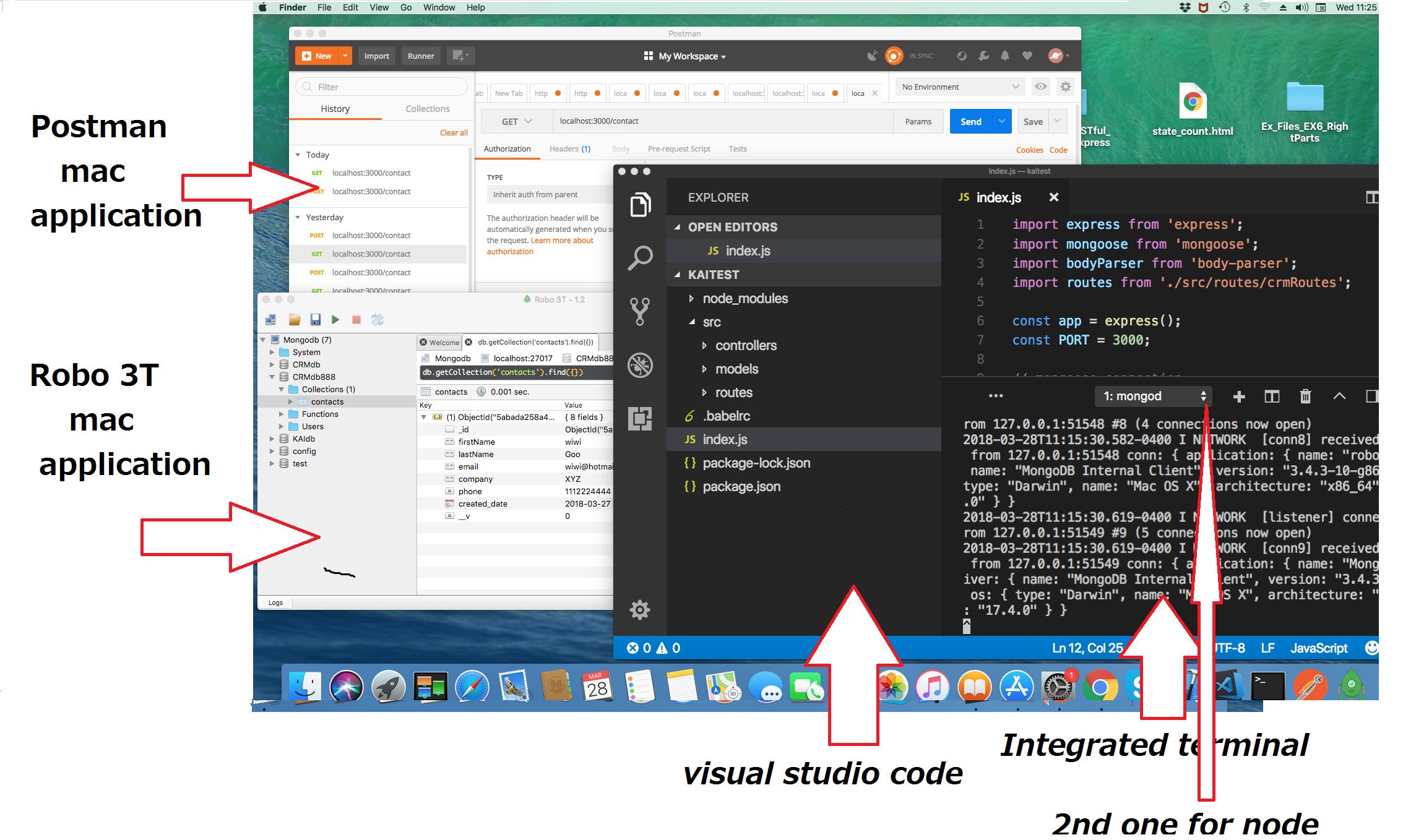 21  building restful Web APIs with nodejs express, mongoose